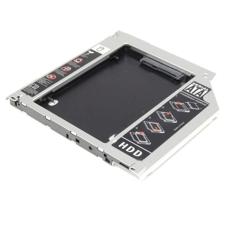 Caddy disque dur universel pour ordinateurs portables