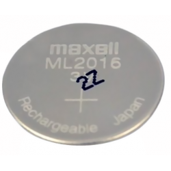 Pile rechargeable ML2016 ou CR2016