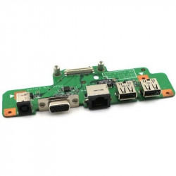 Carte fille Ports Alimentation VGA RJ45 USB Dell Inspiron 1750