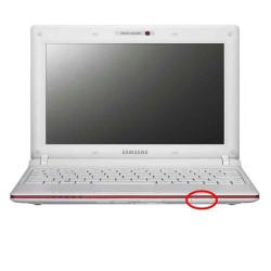Emplacement du bouton poussoir sur Samsung N145 et N150