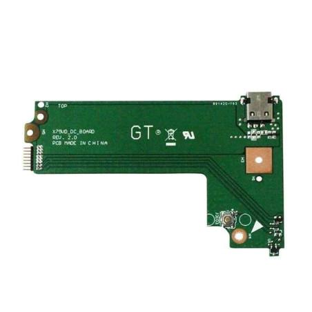 Carte fille port alimentation Asus X75, X75A, X75VB, X75VD