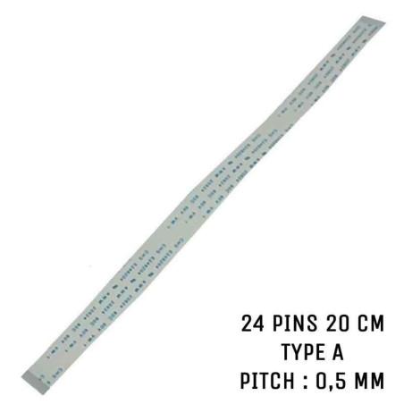 Nappe ZIF 24 pins 20 cm