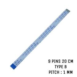 Nappe ZIF 9 pins 20 cm Type B