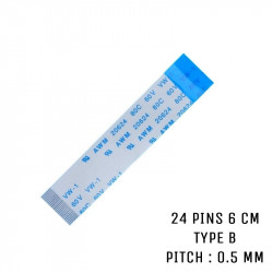 Nappe ZIF 24 pins 6 cm Type B