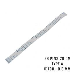 Nappe ZIF 26 pins 20 cm