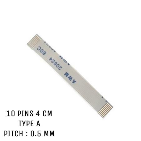 Nappe ZIF 10 pins 4 cm Typa A