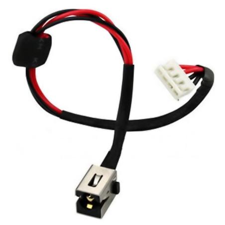 Connecteur d'alimentation Toshiba Satellite A660 avec câble