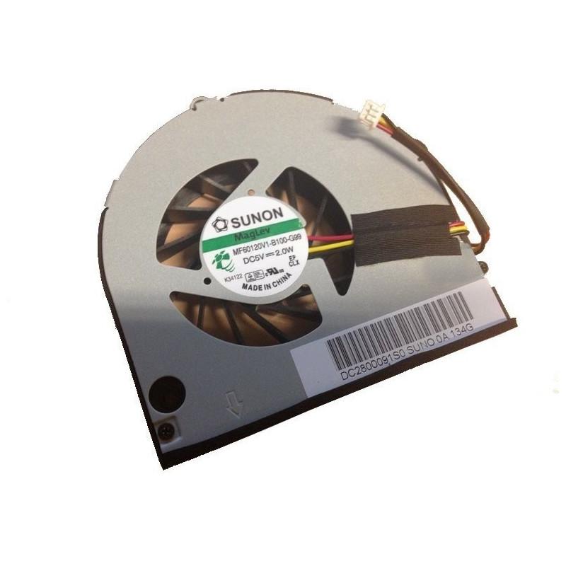 Ventilateur Packard Bell Easynote TM80, TM81 et LM86