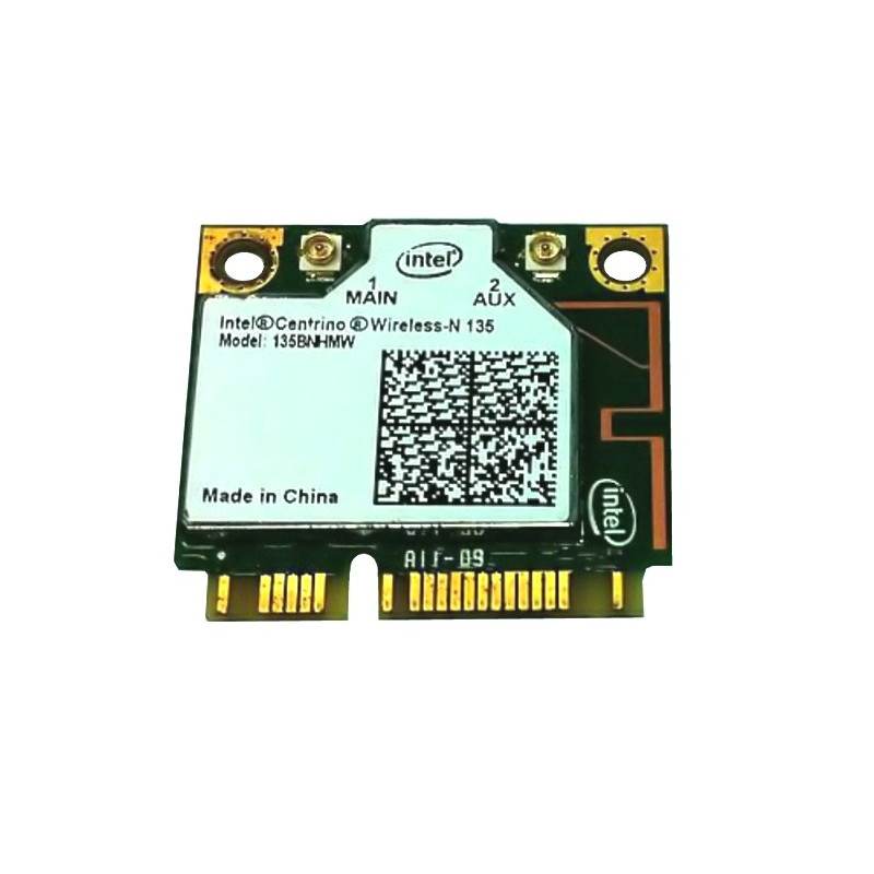Carte Intel WiFi PCI Express 802.11n