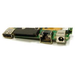 Carte fille Ports Alimentation / USB / RJ45 Asus K52