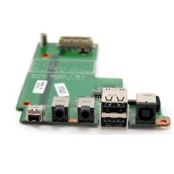 Carte fille Ports Alim / USB / Firewire / Audio pour Dell Latitude E5500
